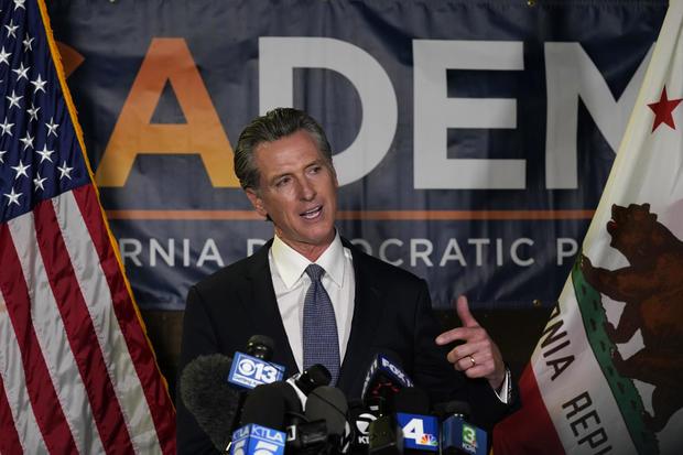 APTOPIX California Recall Newsom