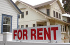 California for rent real estate sign