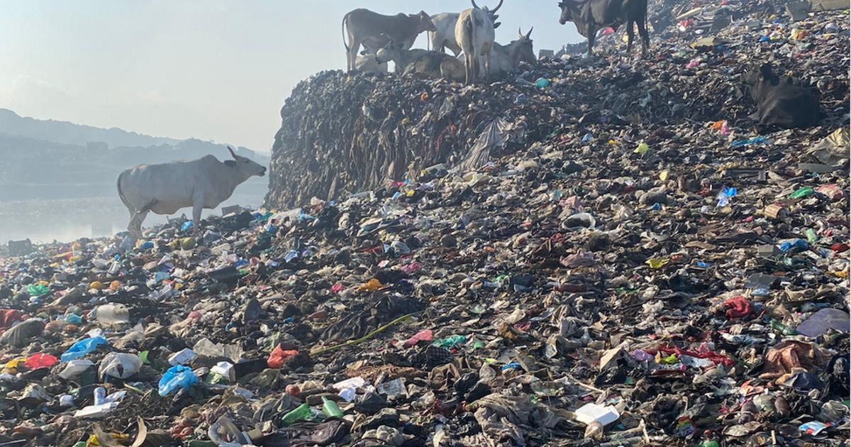 Fast fashion in the U.S. is fueling an environmental disaster in Ghana
