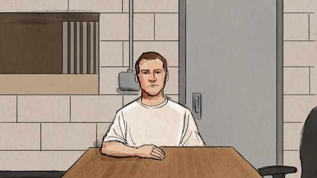 Former Minneapolis police officer Derek Chauvin appears before Judge Tony Leung to enter a not guilty plea