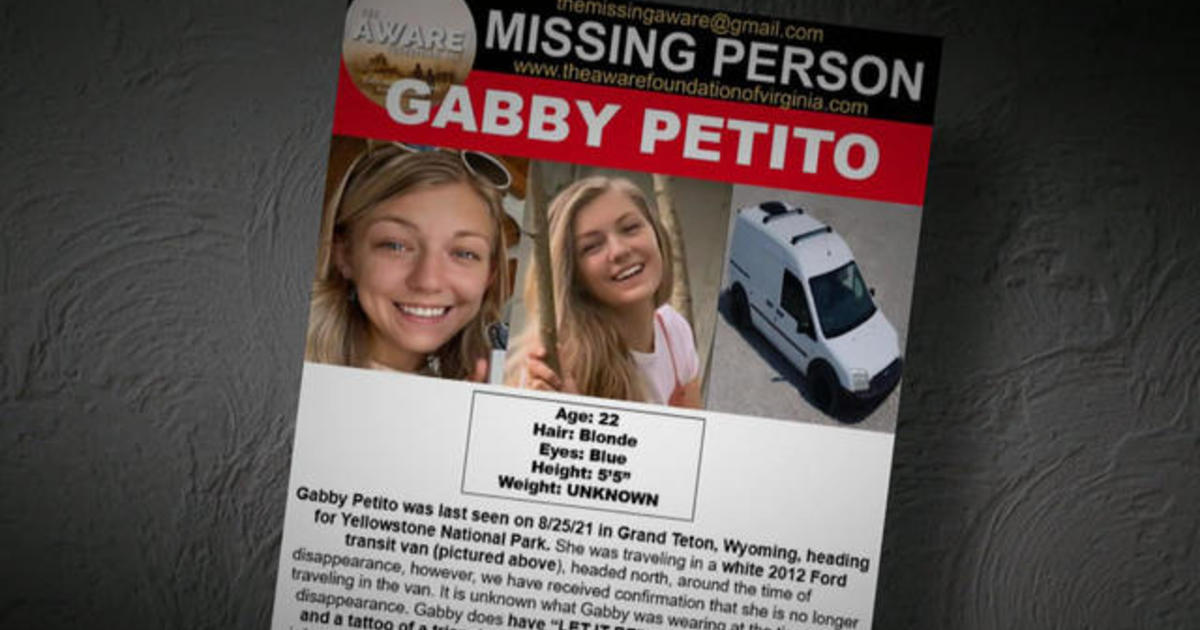 """Video: """"Two people went on a trip, one person returned,"""" search for Gabby Petito ramps up"""