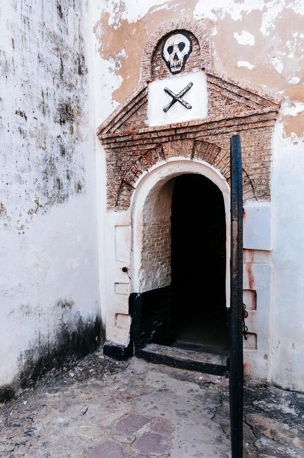 Dungeon in Elmina castle