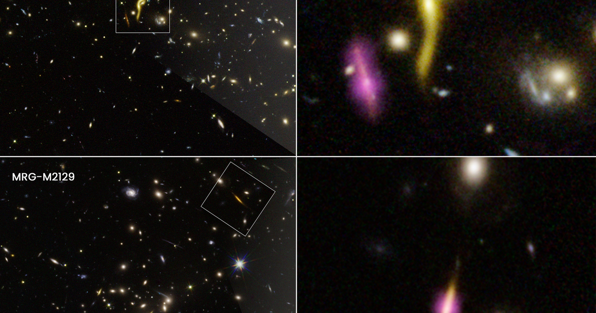Hubble telescope discovers 6 mysteriously dead, massive galaxies from early universe - CBS News