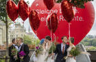 FILE PHOTO: A flag is pictured ahead of a vote on same-sex marriage in Bern