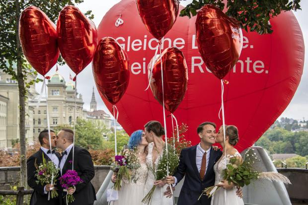 Switzerland Same Sex Marriages
