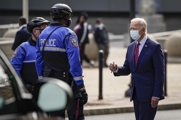 Democratic Presidential Nominee Joe Biden Campaigns Around Wilmington, DE