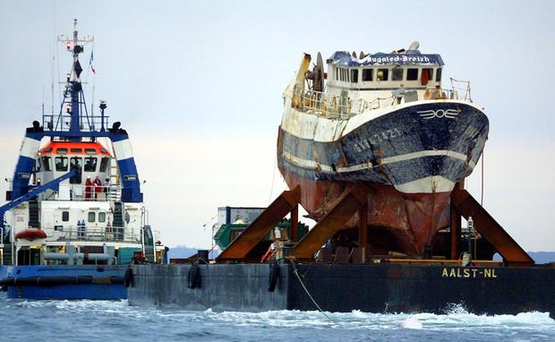 FRANCE-GB-USA-SHIP-ACCIDENT-INQUIRY