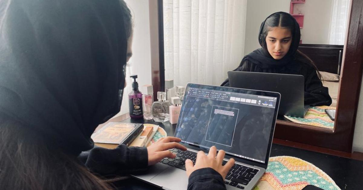 Taliban takes school and work from Afghan women and girls, but it can't take their hope