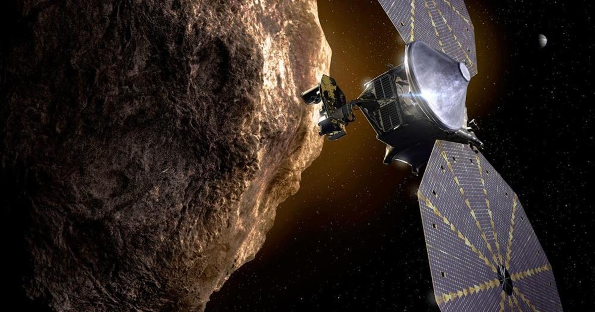 NASA studying solar array issue with Lucy asteroid probe
