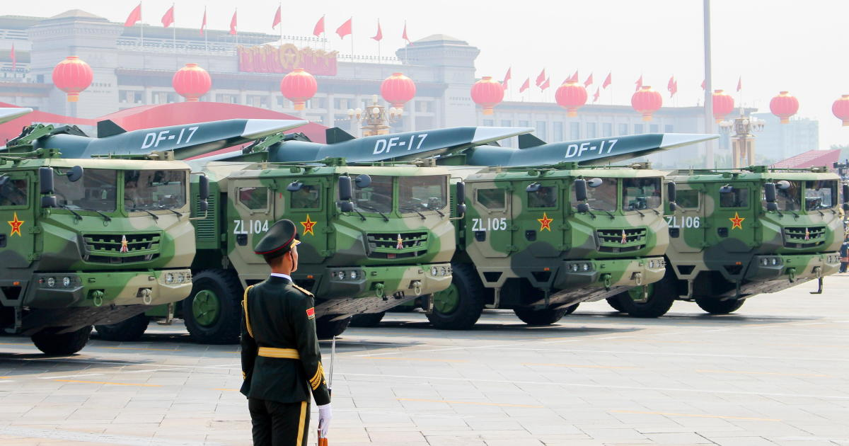 """China's reported hypersonic missile test """"an important surprise"""" for U.S."""