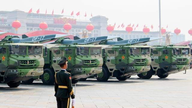 Military parade in Beijing marks 70th anniversary of Chinese People's Republic