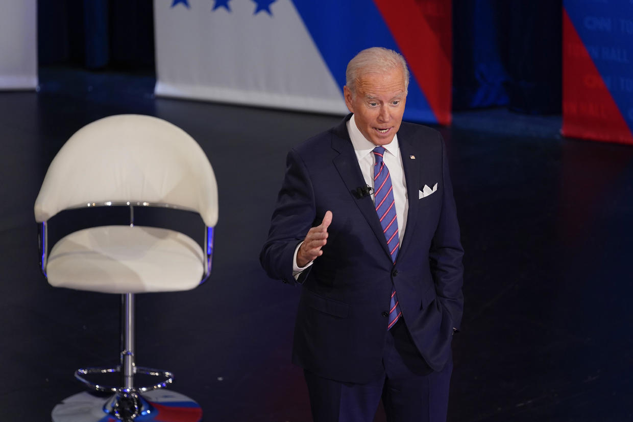 Biden says he'd be willing to eliminate filibuster for some issues (cbsnews.com)