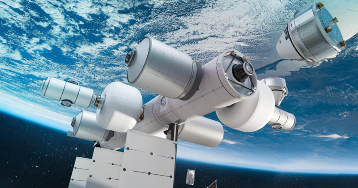 Blue Origin and Sierra Space unveil plans for commercial space station